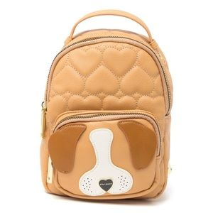 NEW Betsey Johnson Mini Puppy Backpack
